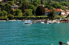 Le voleur de vélo s'est jeté dans le lac d'Annecy pour échapper à la police