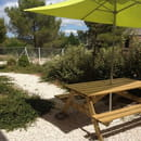 Sandwicherie/saladerie La Fleur de l'Hortus  - terrasse  -