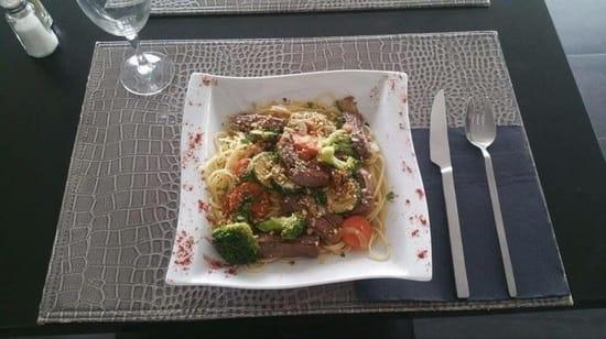 Plat : Brasserie Lounge Le Melau