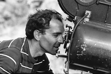 Jean-Luc Godard tournage