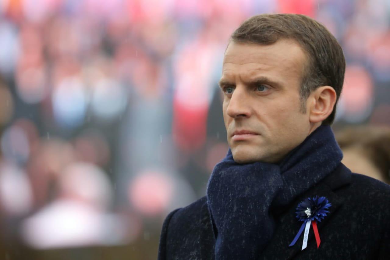 11novembre: Macron inaugure un monument aux soldats morts loin de la France