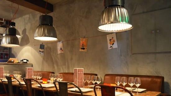 Restaurant : Les Garçons  - Décoration industrielle  -