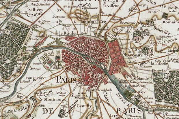Paris en 1749