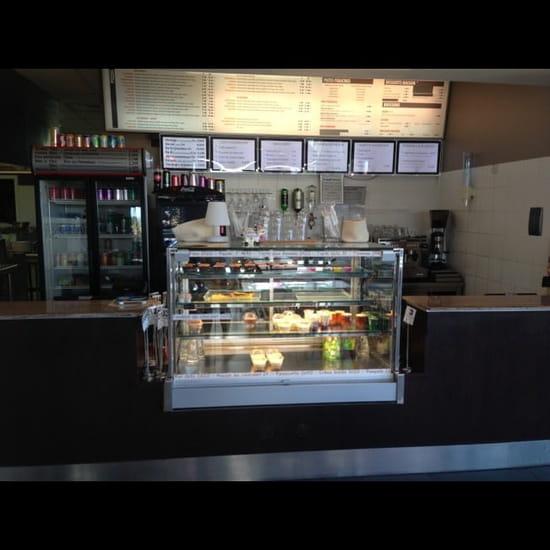 Restaurant : Resto l'Express Café  - Vitrine  -