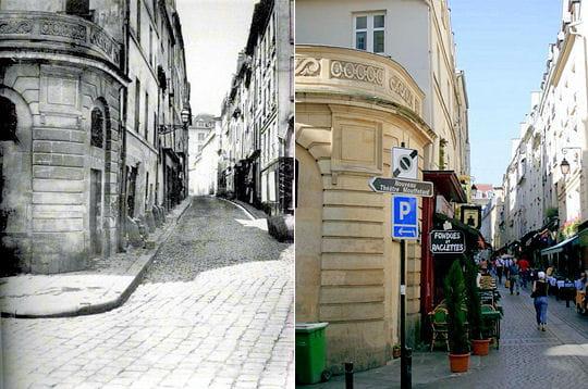 La rue du Pot-de-Fer 1850/ 2007