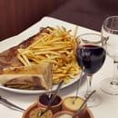 Chez Savy  - Plaisir du soir : Entrecôte poêlée et son os à moelle -