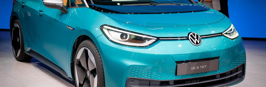 Les photos de la Volkswagen ID 3au Salon de Francfort