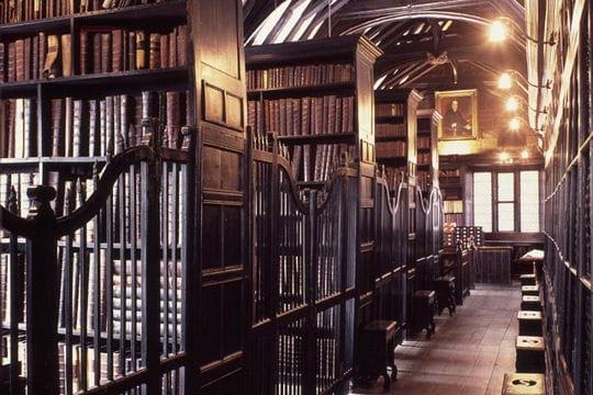 La bibliothèque Chethams à Manchester