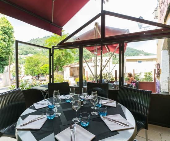 Restaurant : La Forge  - La terrasse -   © La Forge