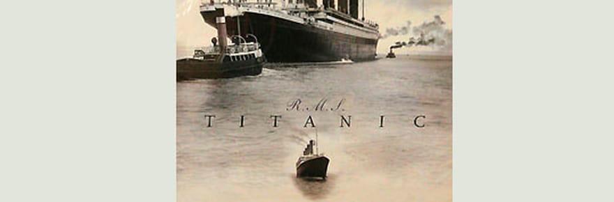 Embarquement à bord du Titanic