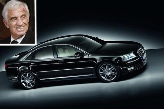 Jean-Paul Belmondo roule en Audi