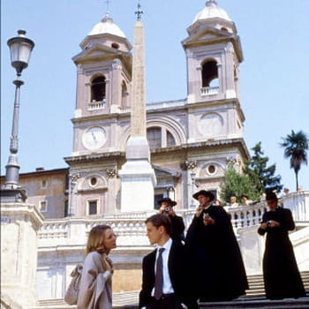 gwyneth paltrow (qui interprète marge sherwood) et matt damon (tom ripley) sur