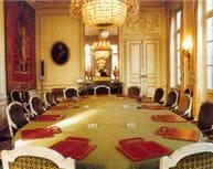 salle du conseil de l'ordre