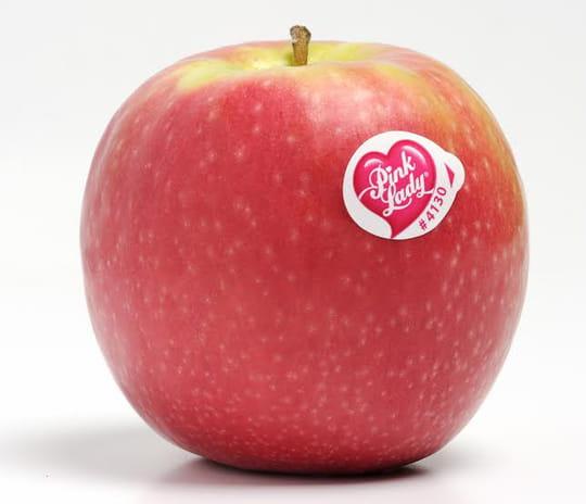 Une Pink Lady® bien entourée…