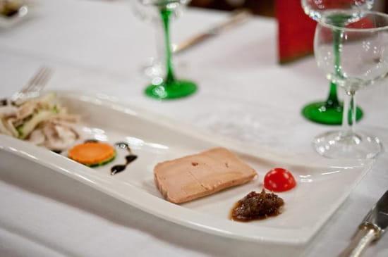 Entrée : Au Lion d'Or  - Foie gras de canard fait maison -