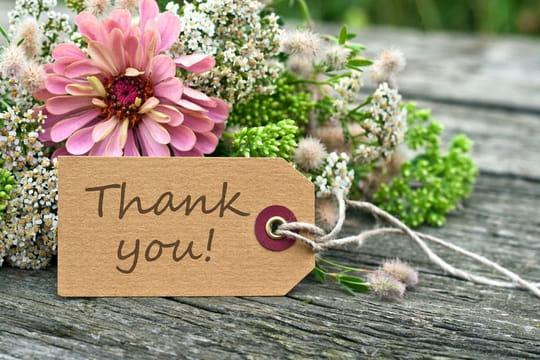 Texte de remerciement de mariage: exemples et modèles
