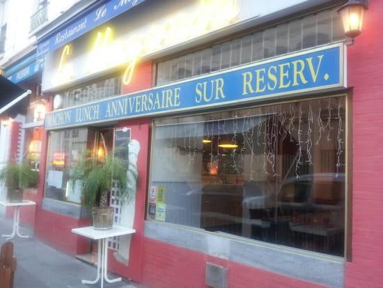 Restaurant : Le Magenta  - Facade du restaurant -