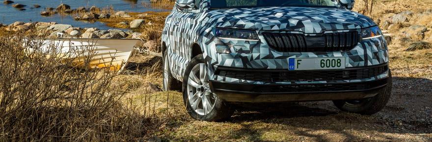 Le Skoda Karoq, le SUV remplaçant du Yeti, se dévoile