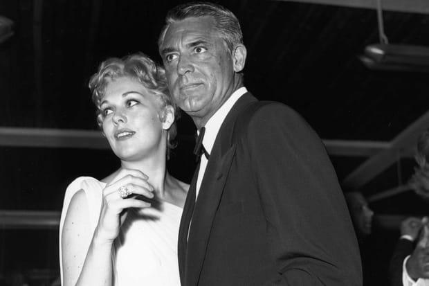 Kim Novak et Cary Grant à Cannes en 1959