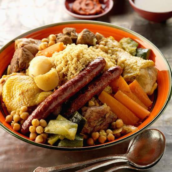 Restaurant : Allo Couscous By Night  - marocain et bon chez allocouscous  et couscous des jacobins -   © zozo