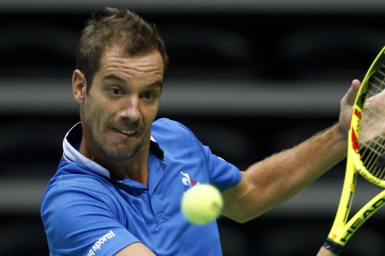Richard Gasquet forfait pour la finale de Coupe Davis — Tennis