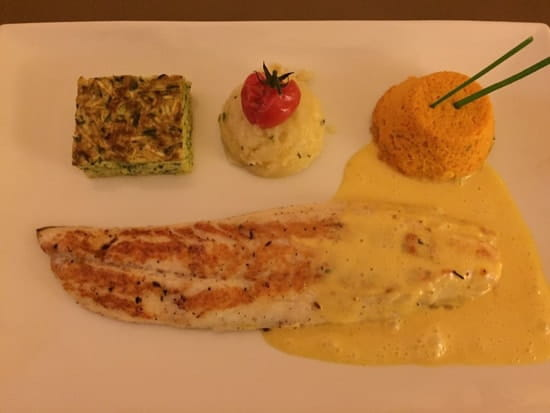Restaurant : La Frégate  - Bar du menu à 33€- excellent ! -