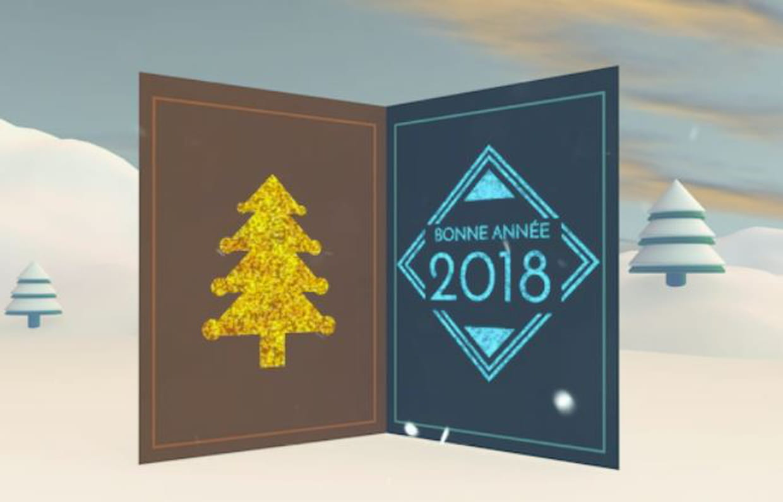 Carte de voeux : notre sélection pour souhaiter vos voeux 2018