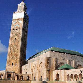 Le minaret le plus haut for Mosquee hassan 2 architecture