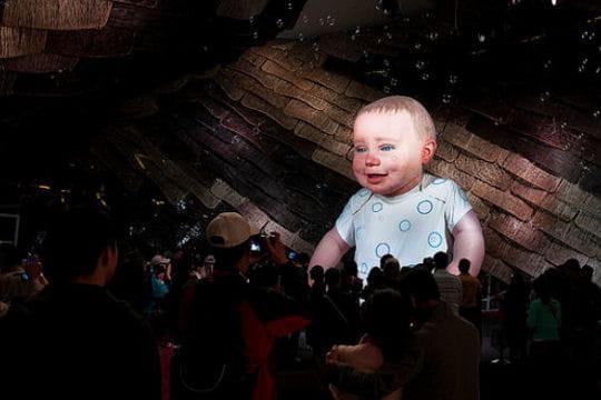 Un bébé hologramme pour l'Espagne