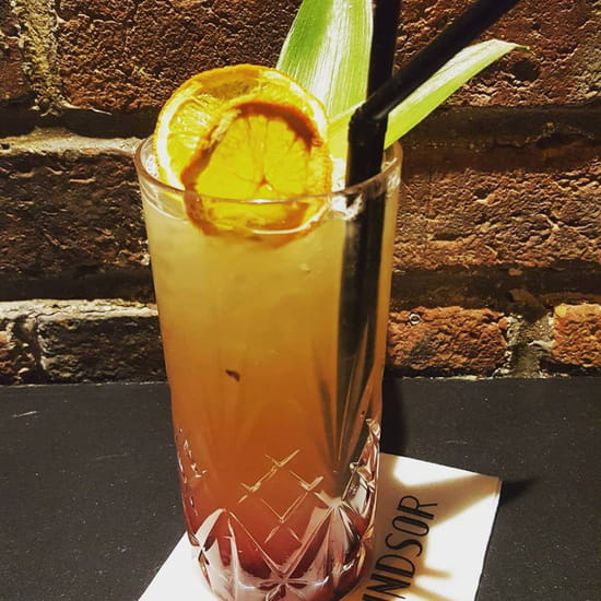 Boisson : Windsor Tapas  - tequila sun -   © windsor