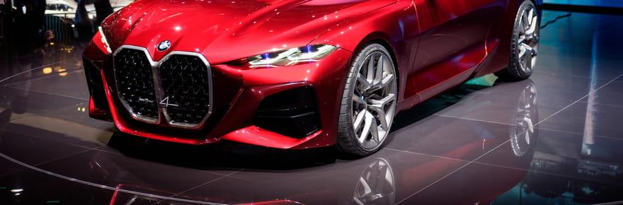 Les photos du BMW Concept 4au Salon de Francfort