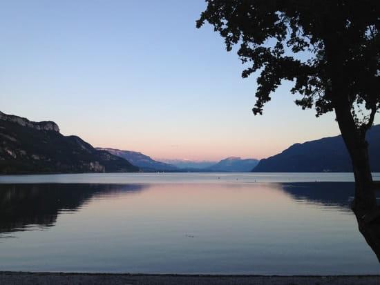 Ô Lac !  - Coucher de soleil -   © Ô Lac !