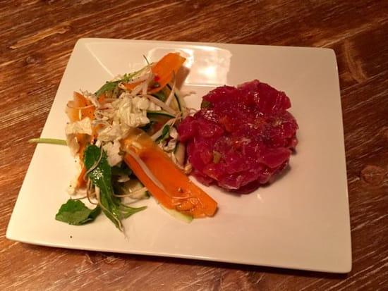 Entrée : Les Garçons  - Tartare de thon rouge et ses légumes croquants  -
