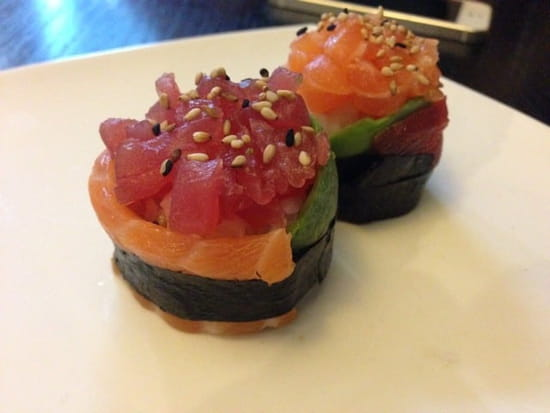 Entrée : Sushi Wa Fu  - mignon wafu -