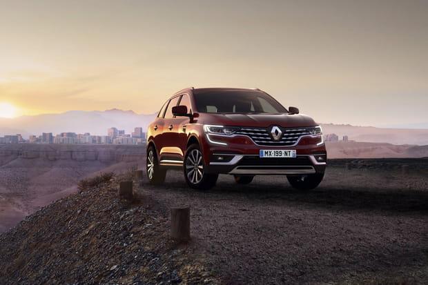 Le nouveau Renault Koleos restylé en images