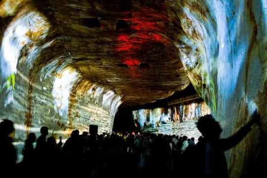 Tunnel de l'histoire