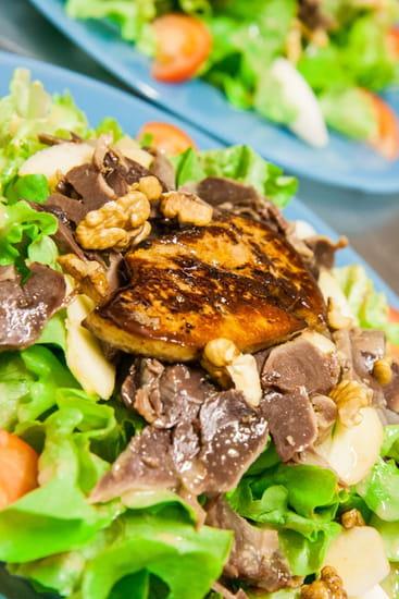 Le Clos Grand  - Salade gourmande -   © Gaetan Soupa