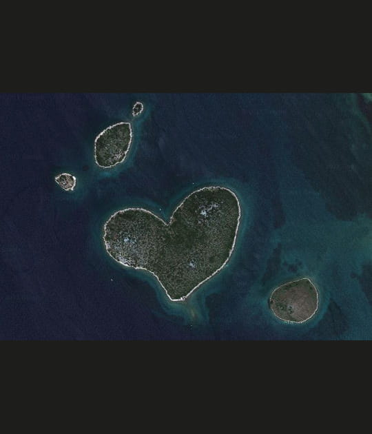 Galesnjak, l'île de Cupidon