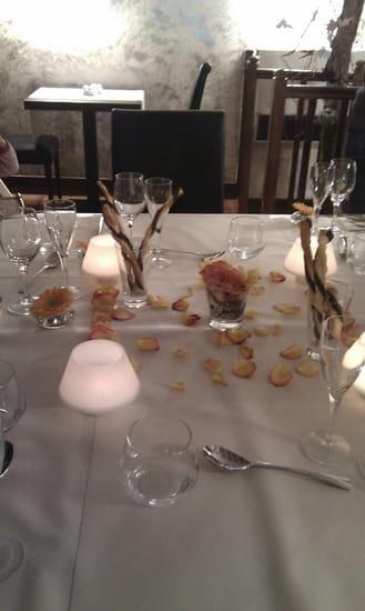 Restaurant : L'Amuse Bouche  - Table de dîner -