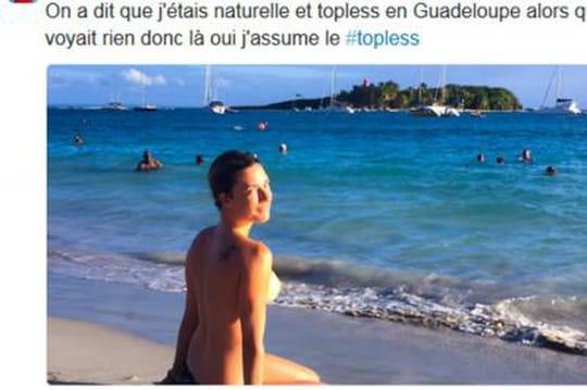 Eve Angeli nue: la chanteuse montre ses seins, son corps et ses cheveux courts