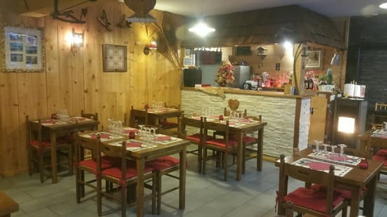 Restaurant : Chez Natacha et Gael  - Salle -
