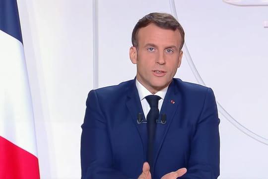 Discours de Macron: vidéo de l'allocution, résumé des annonces