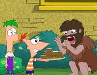 Phineas et Ferb : Un Néandertalien affamé