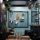 Restaurant : B.L.O  - Intérieur mosaïque -   © BLO