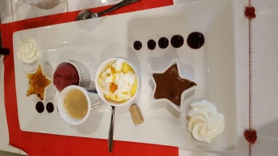 Dessert : Chez René  - Café  gourmand  -