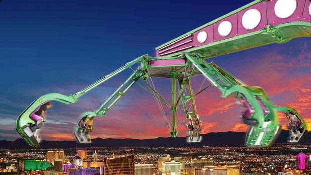 Faire le plein de sensations au Stratosphere Hotel de Las Vegas