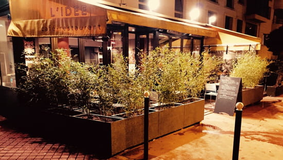 Entrée : L'Idée   © restaurant l'idée