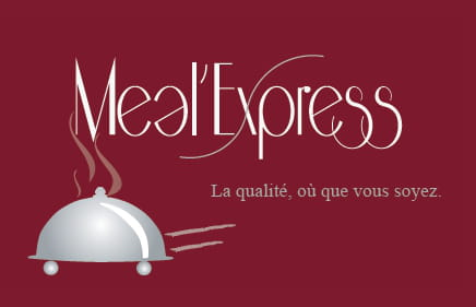 , Restaurant : Meal'Express  - LOGO -   © Meal'express
