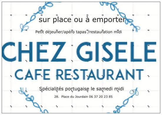 Restaurant : Chez Gisèle  - Café restaurant -   © @GMP