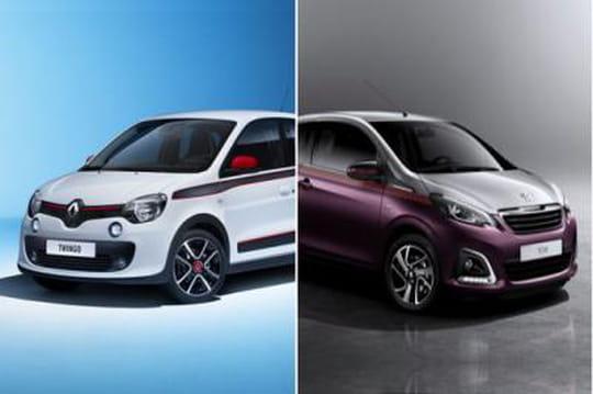 Renault Twingo3, Peugeot108: leprix ne sera pas déterminant